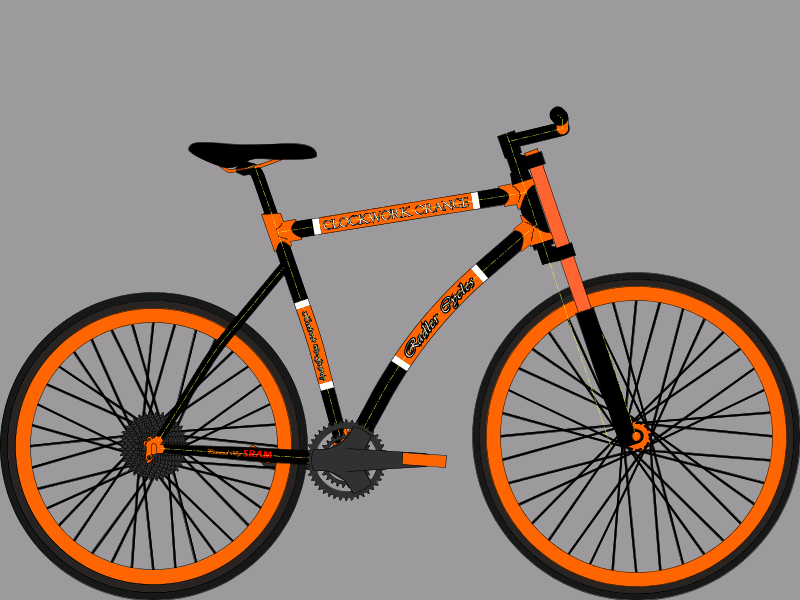 Radler Cycles Clockwork Orange