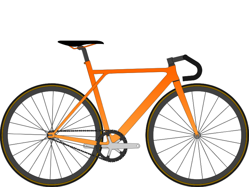 S bikes Orange Dream Track Machine