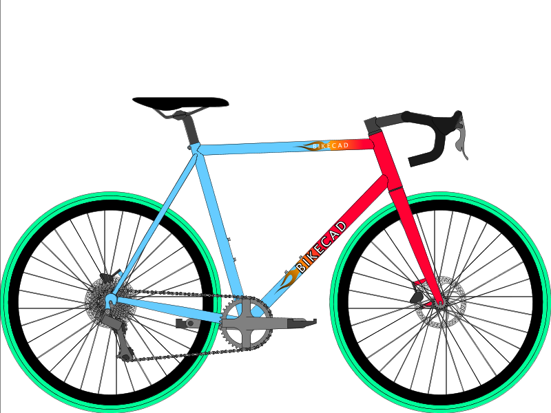 knight cycles flaming painted bunting